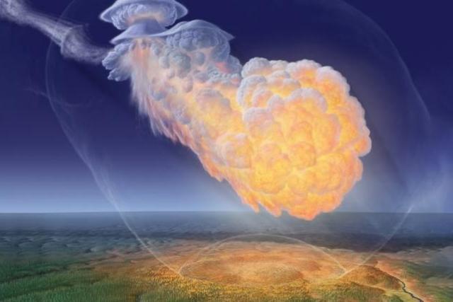 30 июня 1908 года на землю упал тунгусский метеорит