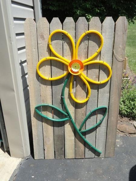 Идеи из садового шланга